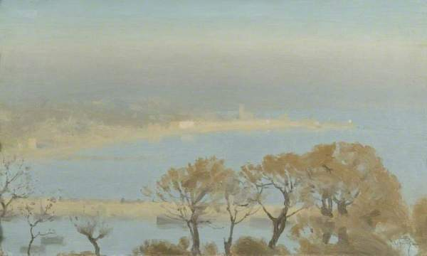 Autumn Mists by Thomas Cooper Gotch