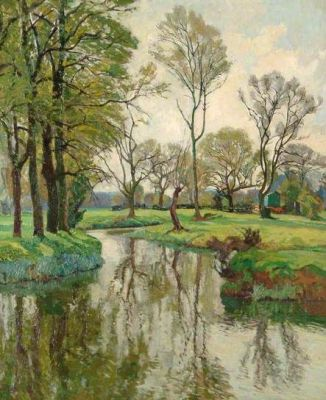 Spring on the Stour by John Park (1880-1962)
