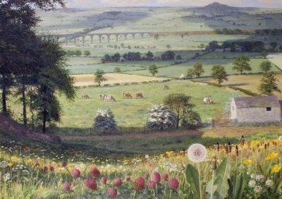 'Summer Landscape' by Raymond Booth