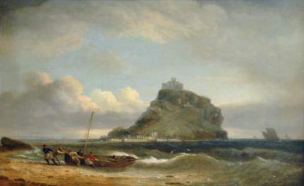 Luny, Thomas, 1759-1837; St Michael's Mount