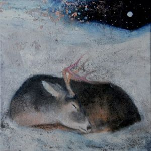 ('The Sleeping Heart of Winter' by Catherine Hyde}