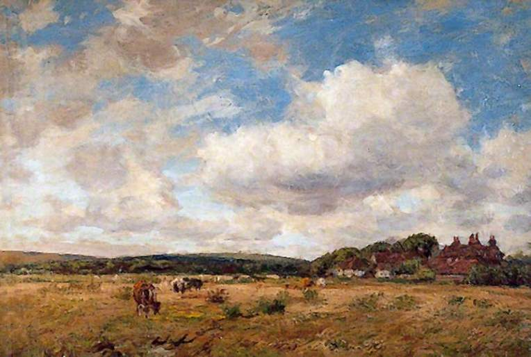 Charles, James, 1851-1906; Sussex Downs